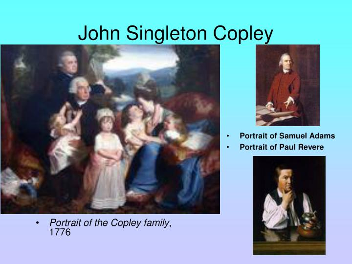 Portrait of the Copley family