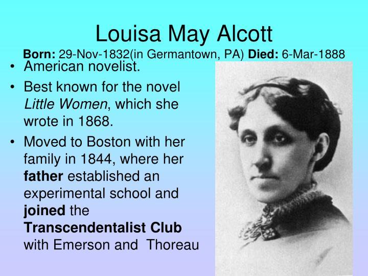 American novelist.