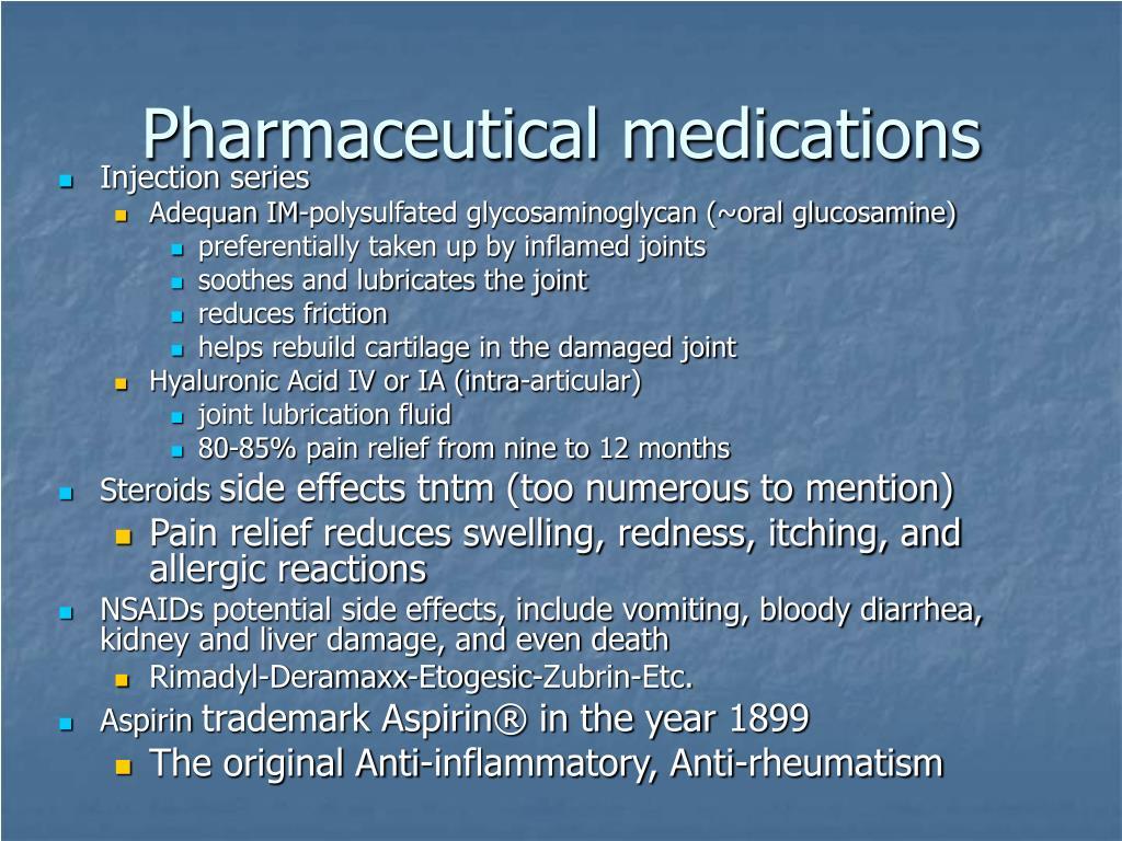 Pharmaceutical medications