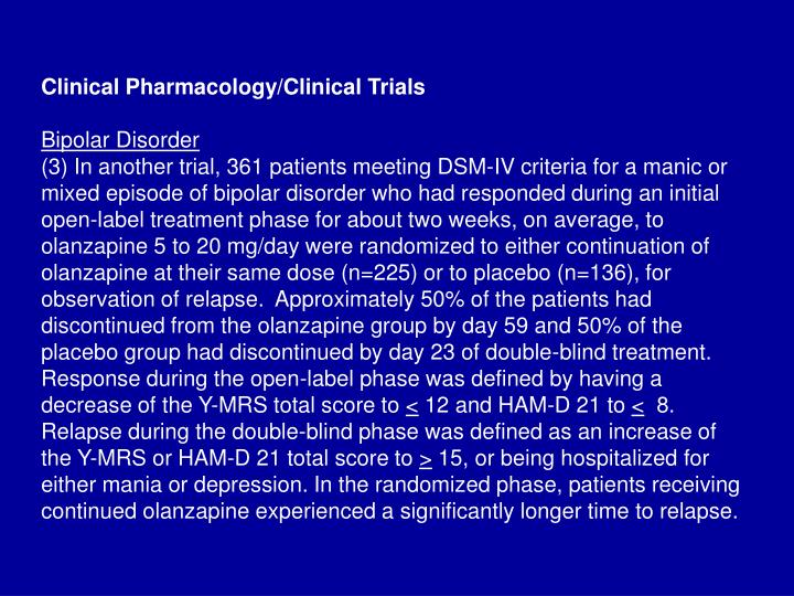 Clinical Pharmacology/Clinical Trials