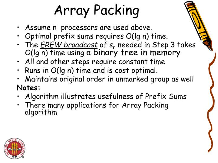 Array Packing