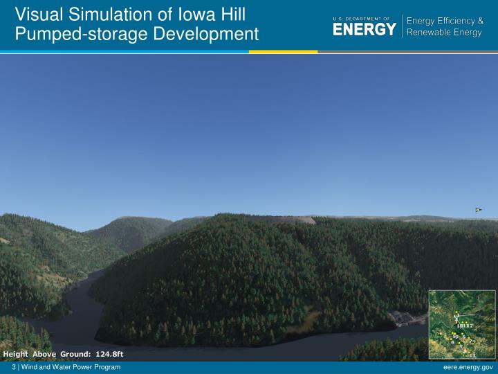 Visual simulation of iowa hill pumped storage development