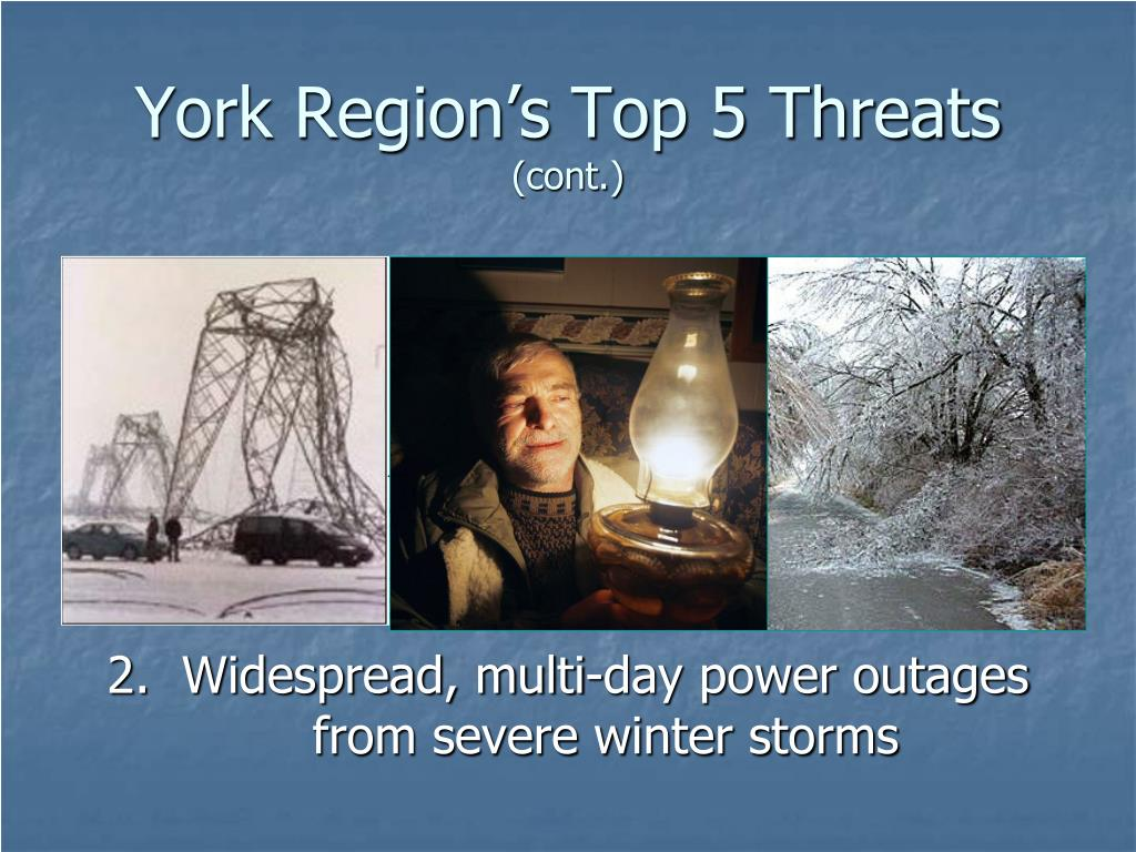 York Region's Top 5 Threats