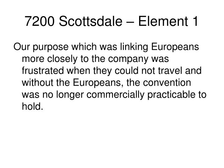 7200 Scottsdale – Element 1