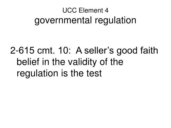 UCC Element 4