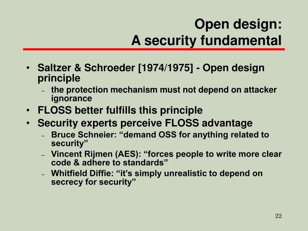 Open design: