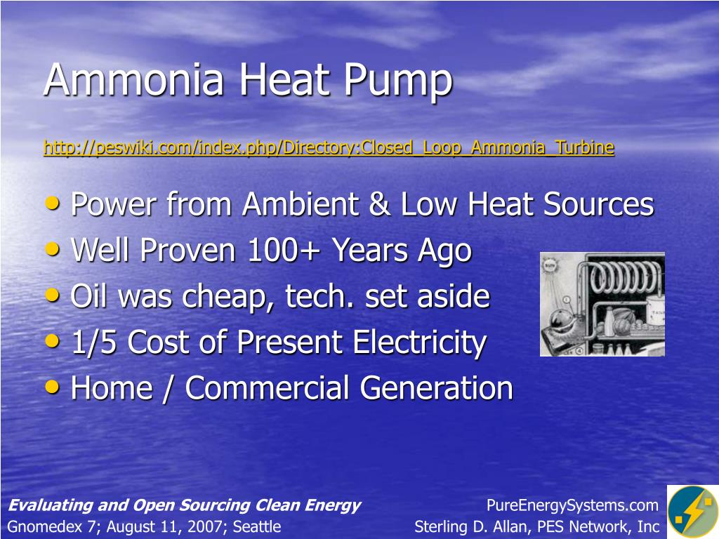 Ammonia Heat Pump