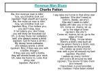 revenue man blues charlie patton
