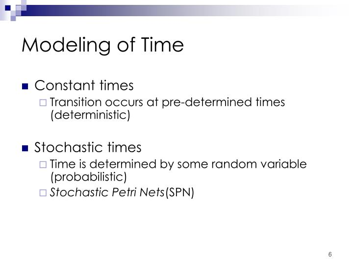 Modeling of Time