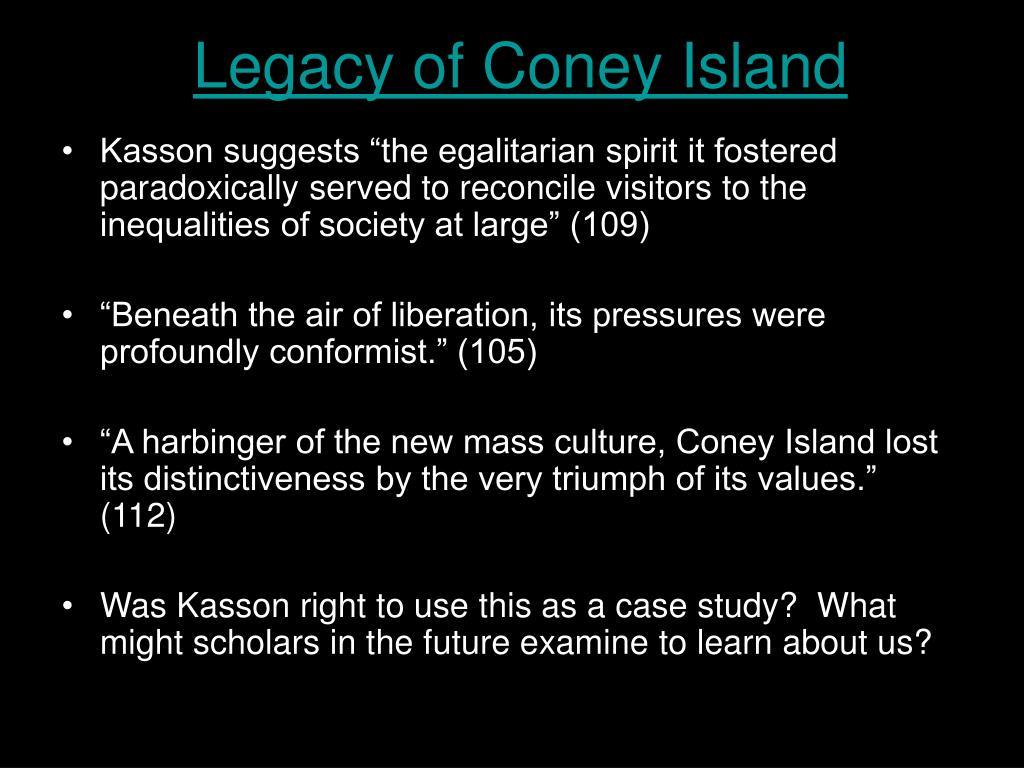 Legacy of Coney Island
