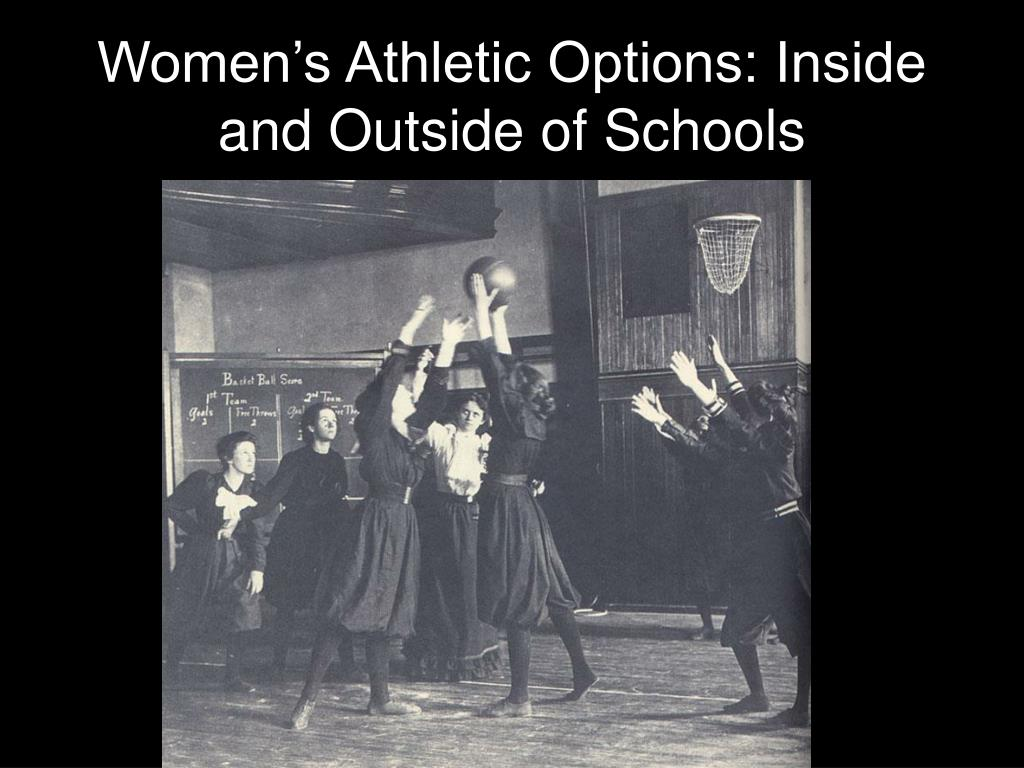 Women's Athletic Options: Inside and Outside of Schools