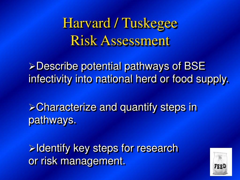 Harvard / Tuskegee