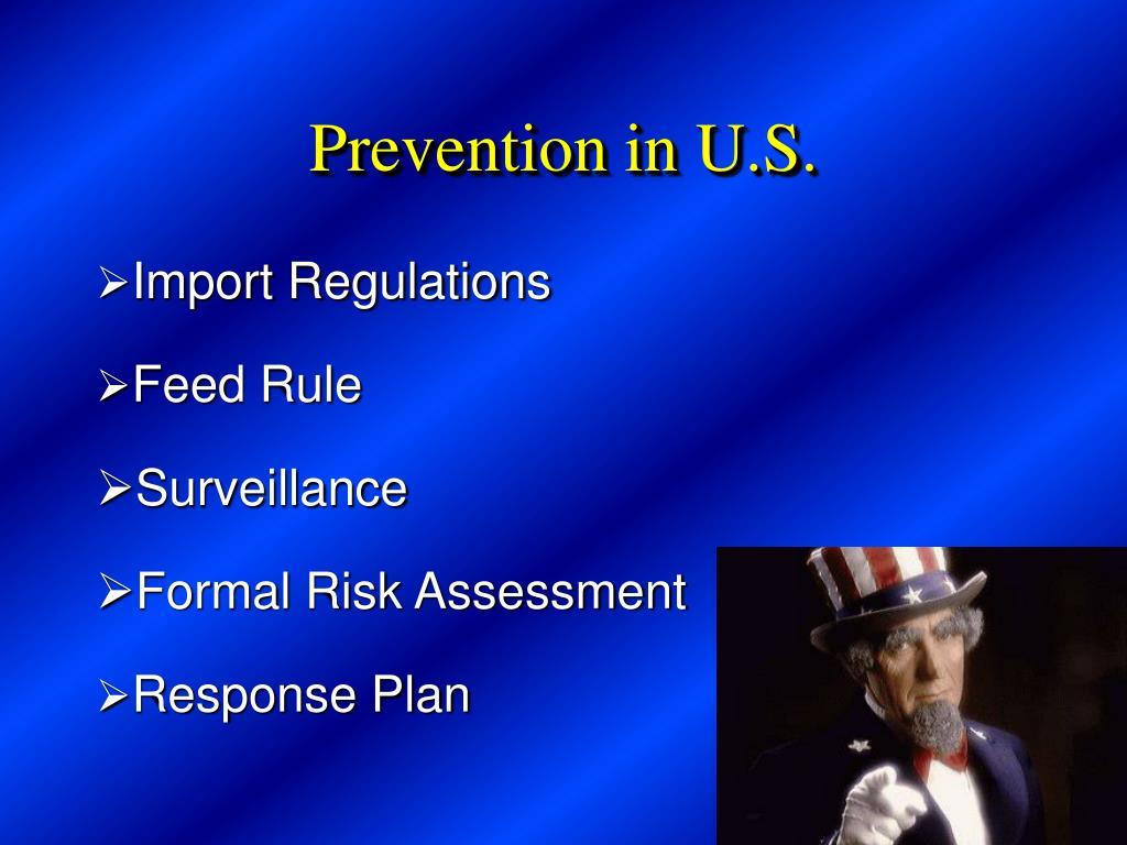 Prevention in U.S.