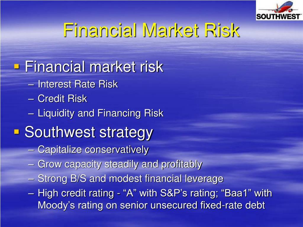 Financial Market Risk