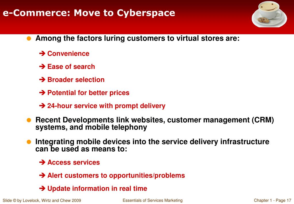 e-Commerce: Move to Cyberspace
