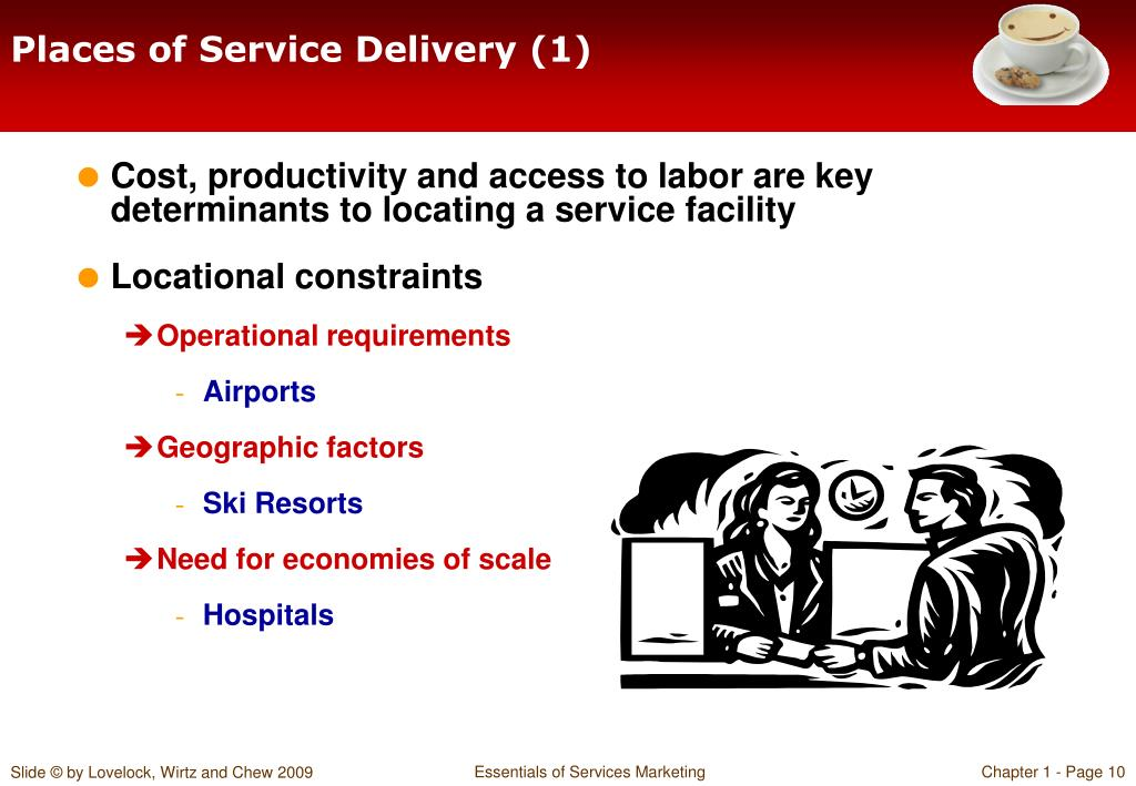 Places of Service Delivery (1)
