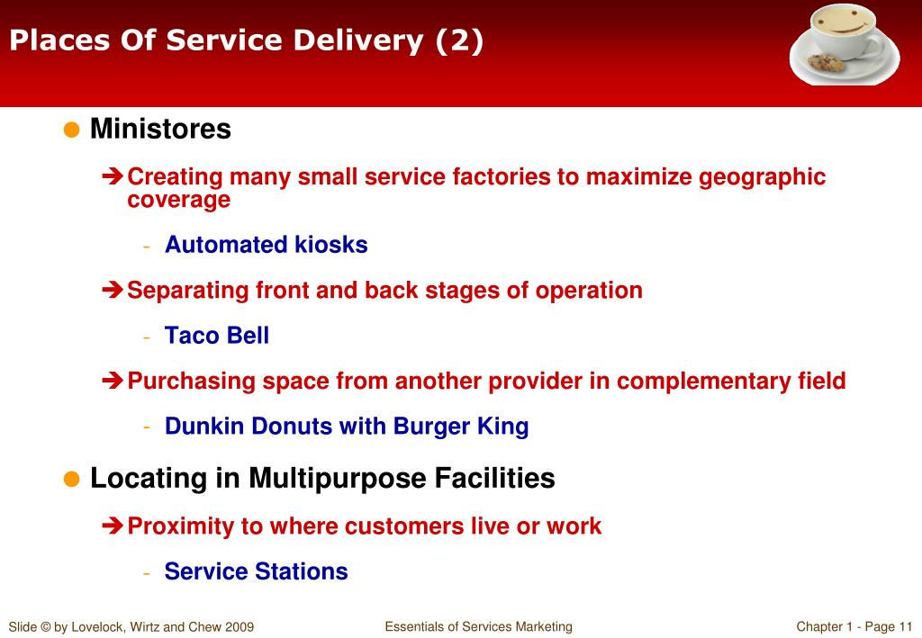 Places Of Service Delivery (2)