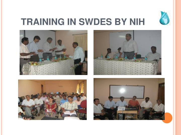 TRAINING IN SWDES BY NIH