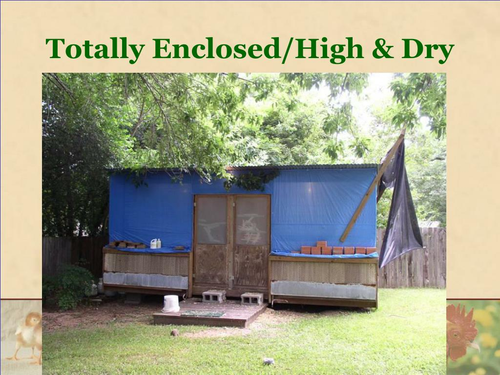 Totally Enclosed/High & Dry
