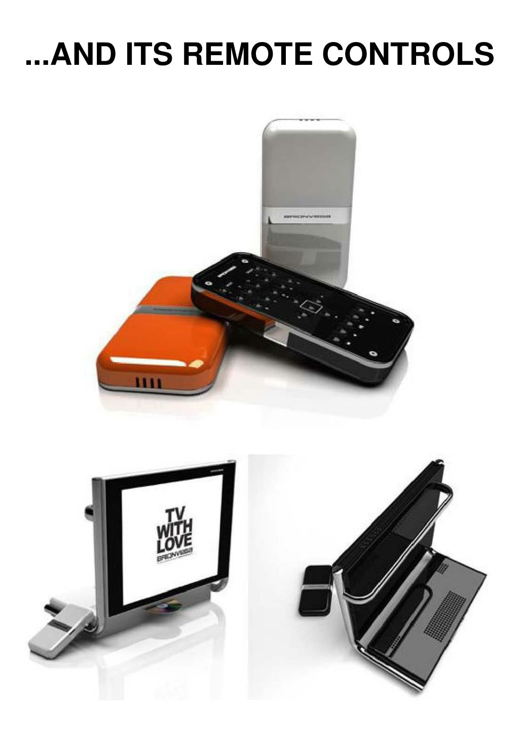 ...AND ITS REMOTE CONTROLS