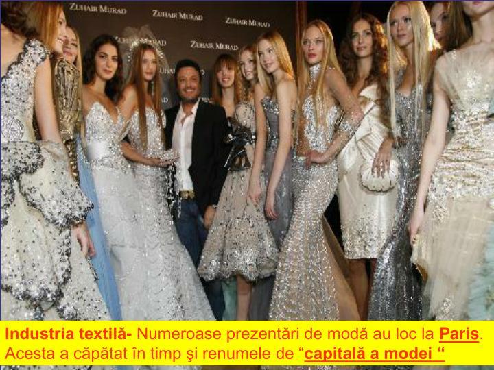 Industria textilă-