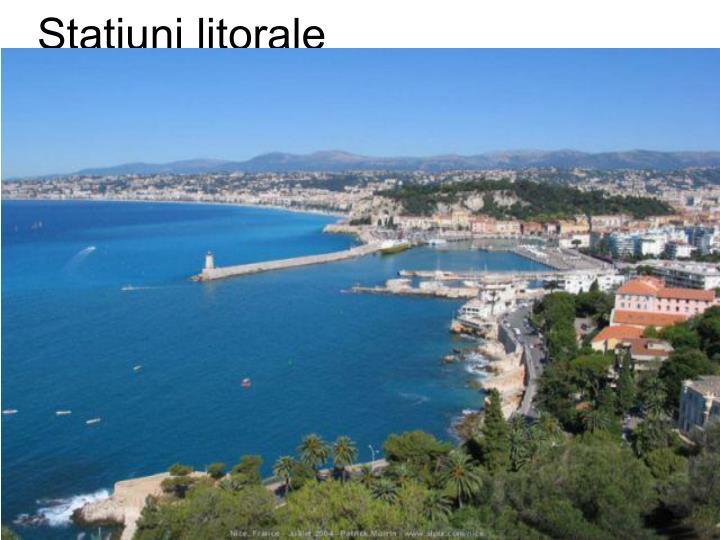 Staţiuni litorale