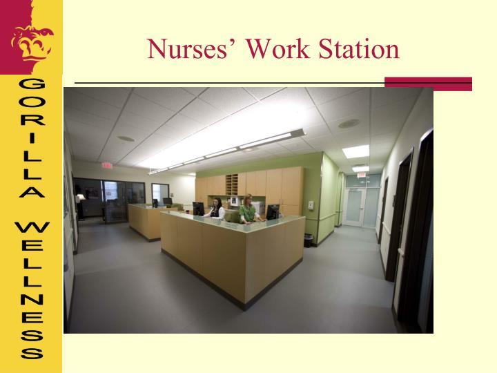 Nurses' Work Station