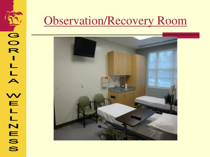 Observation/Recovery Room