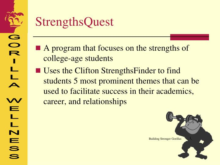 Building Stronger Gorillas