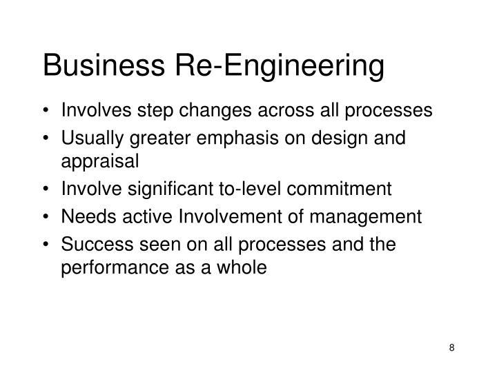 Business Re-Engineering