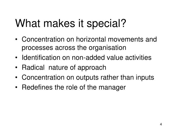 What makes it special?