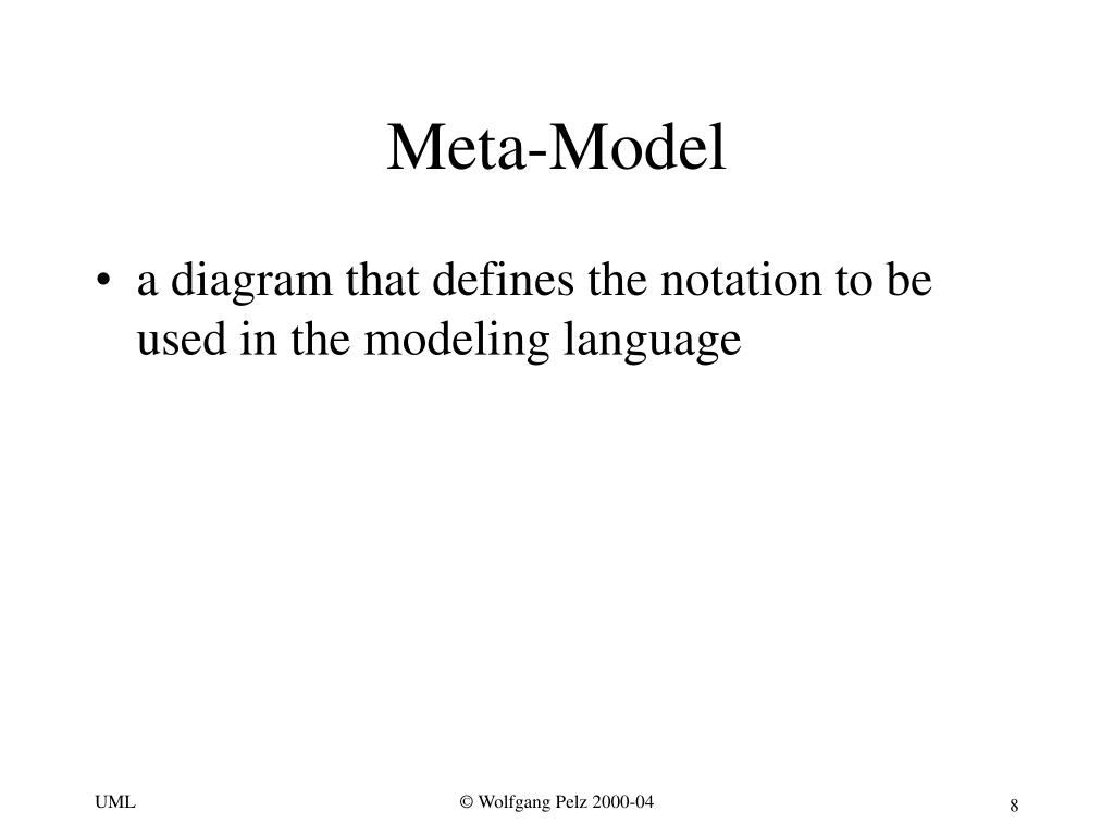 Meta-Model