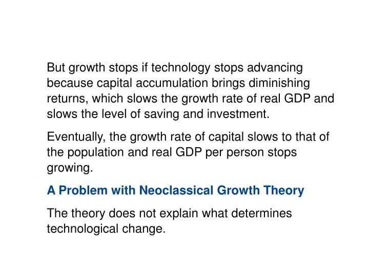 10.3 THEORIES OF ECONOMIC GROWTH