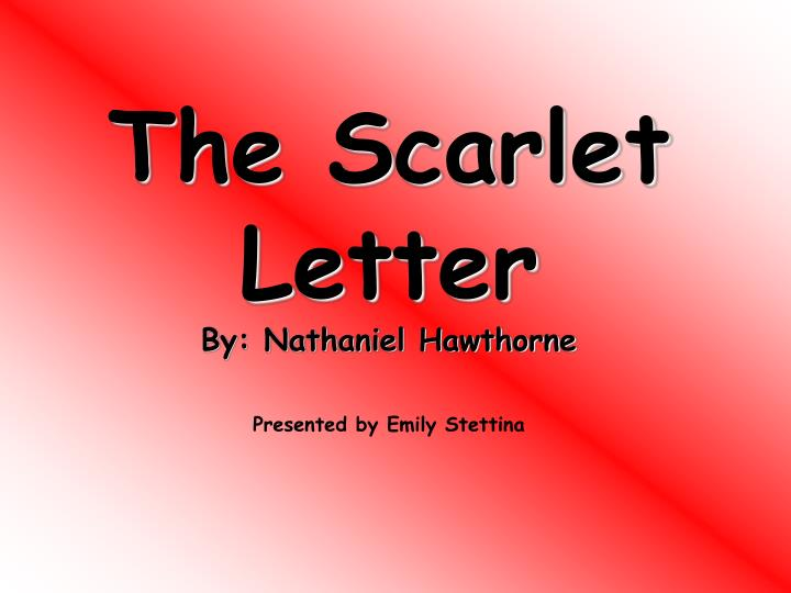 The Scarlet Letter Essay Topics