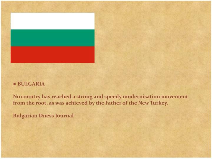 ● BULGARIA