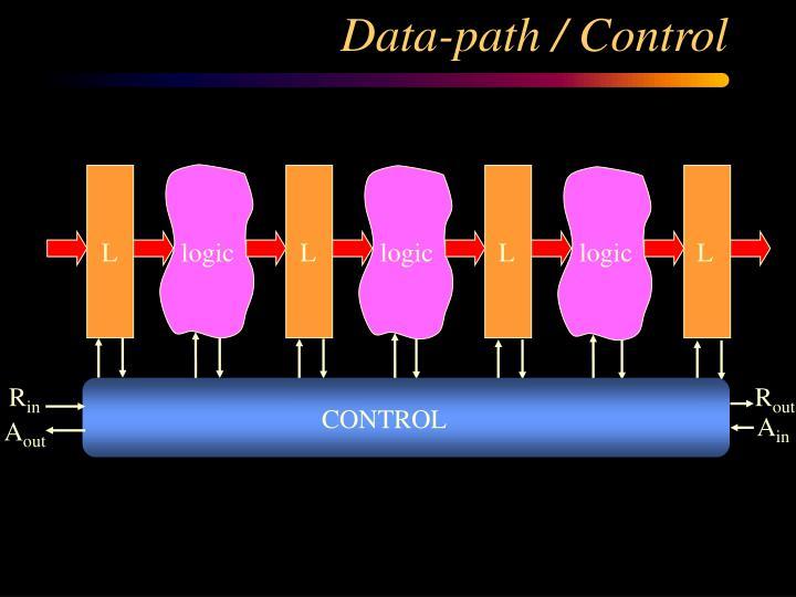 Data-path / Control