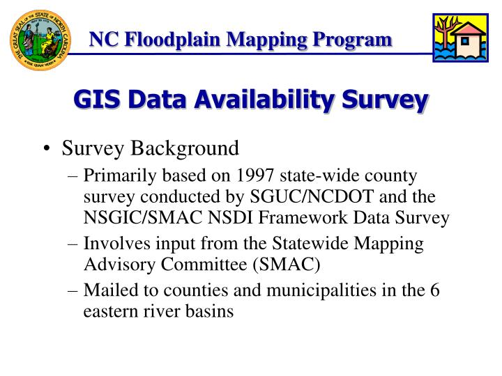 Gis data availability survey2