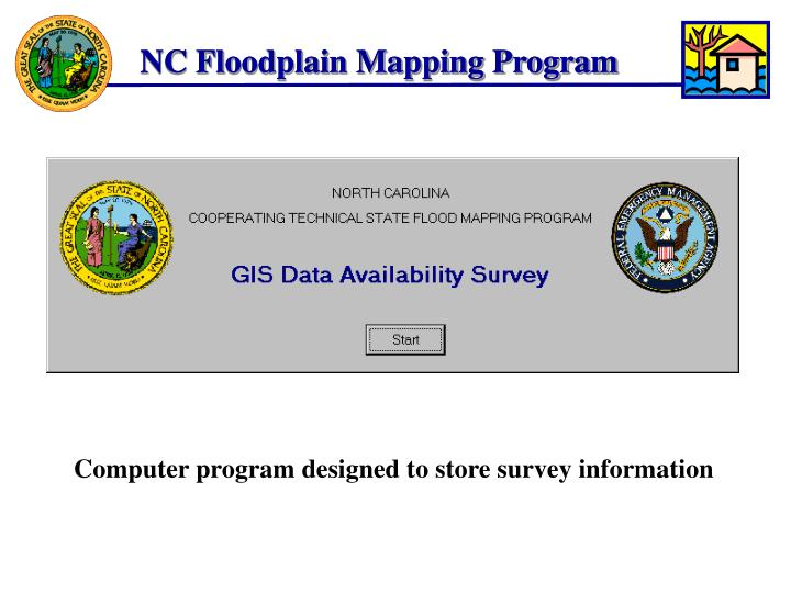NC Floodplain Mapping Program