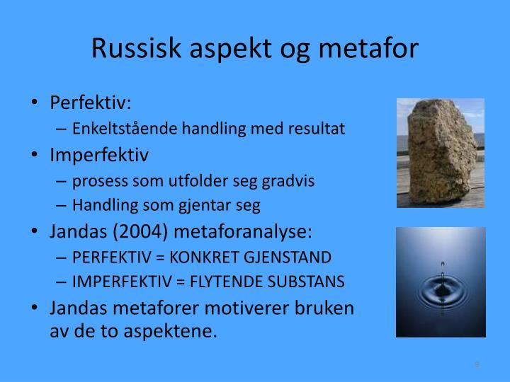 Russisk aspekt og metafor
