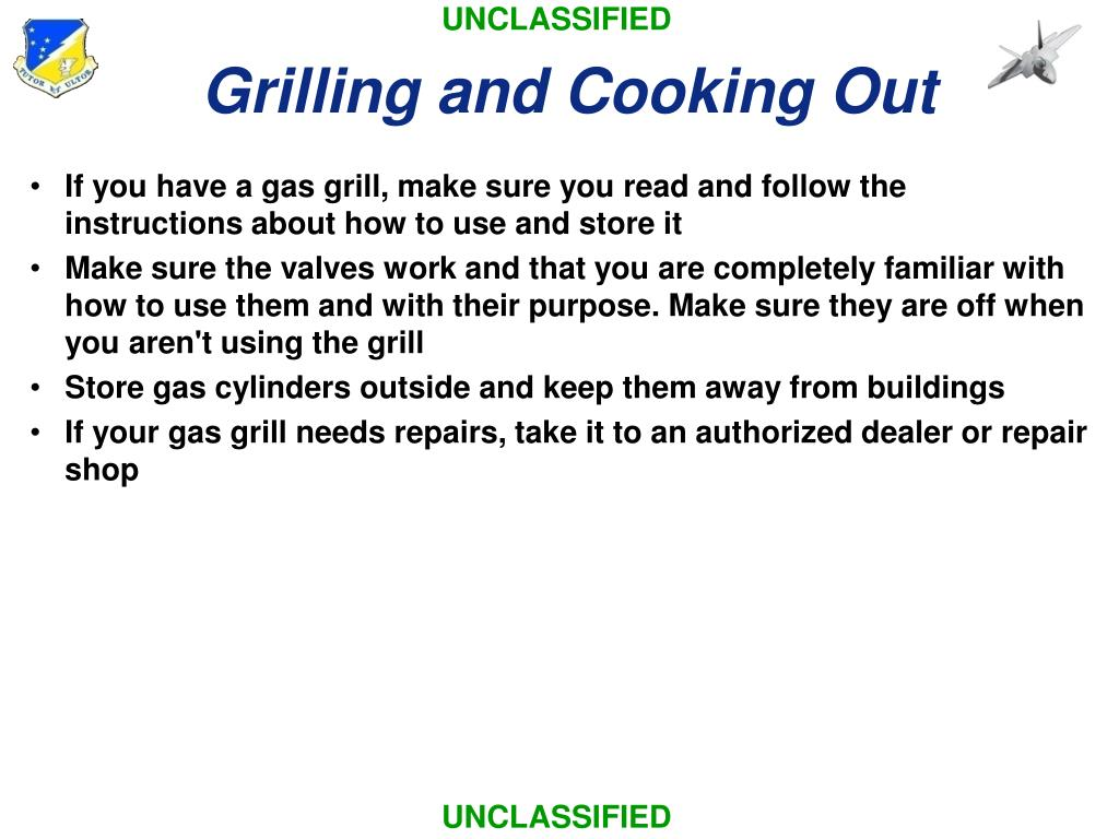 Grilling and Cooking Out