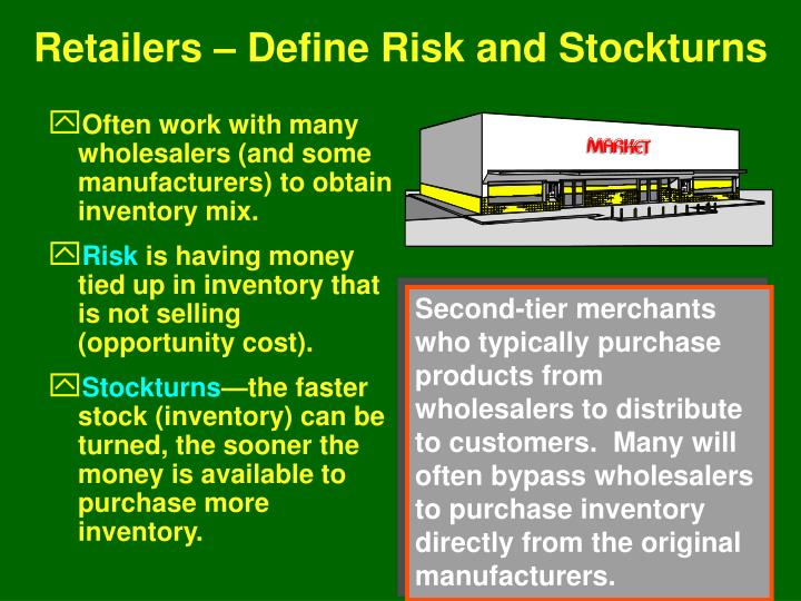 Retailers – Define Risk and Stockturns