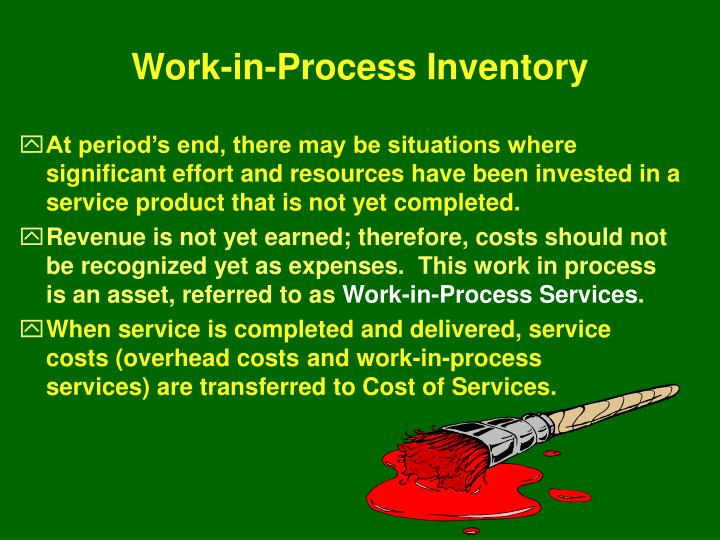Work-in-Process Inventory