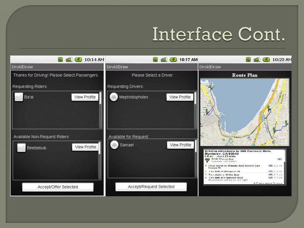 Interface Cont.