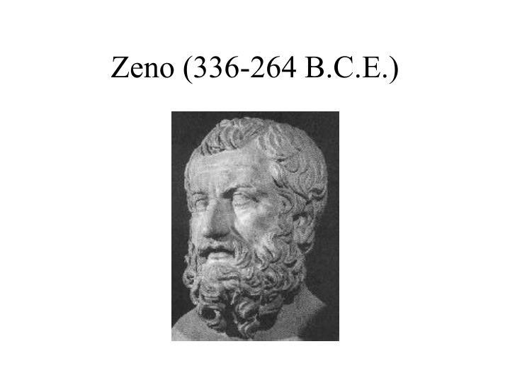 Zeno (336-264 B.C.E.)