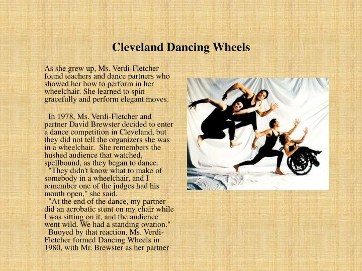 Cleveland Dancing Wheels