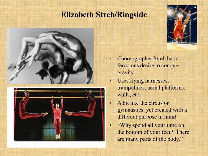 Elizabeth Streb/Ringside