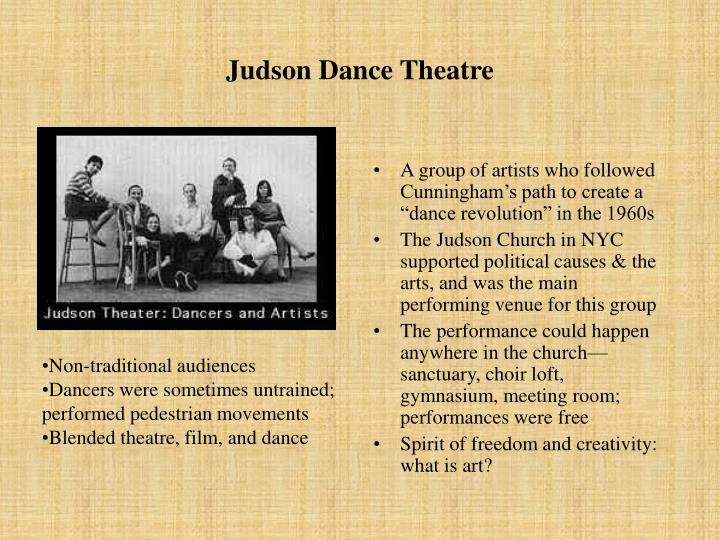 Judson Dance Theatre