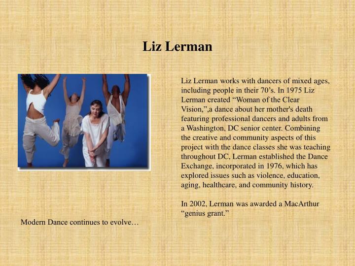 Liz Lerman