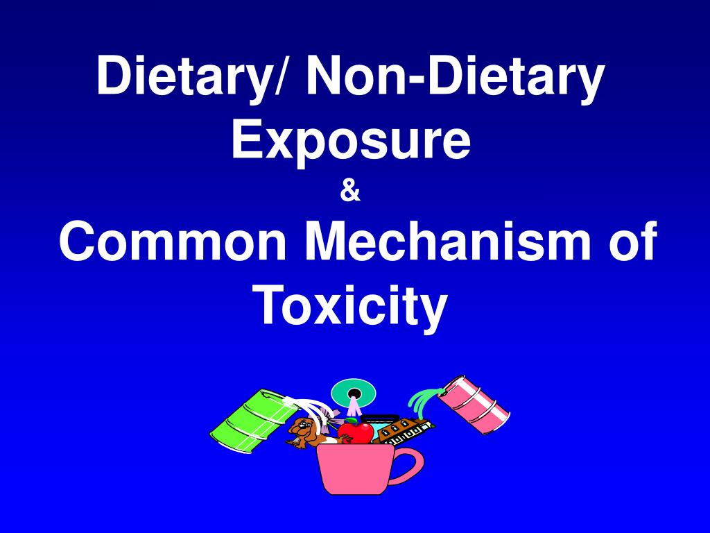 Dietary/ Non-Dietary  Exposure