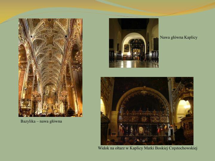 Nawa główna Kaplicy